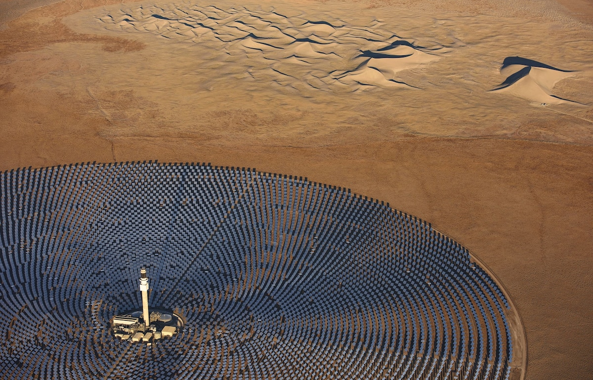 The Energy of Tomorrow Looks Strikingly Artistic from Above