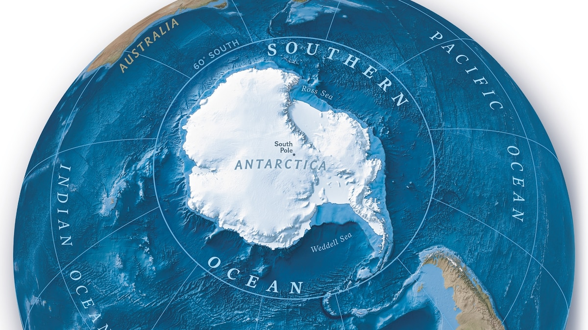 National Geographic Officially Recognizes Southern Ocean as Planet Earth's Fifth Ocean