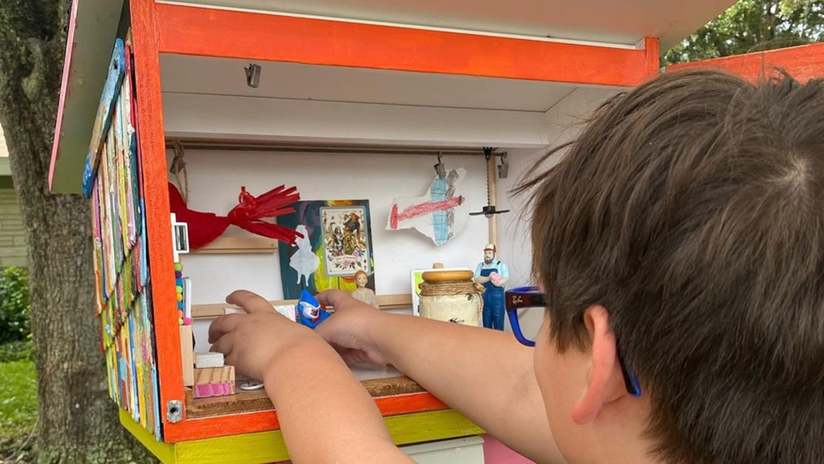 Why tiny art can be huge for kids