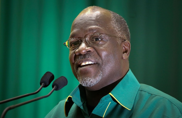Tanzania's President John Pombe Magufuli has taken a tough stance against corrupt officials and others involved in poaching. Photograph by Khalfan Said, Associated Press