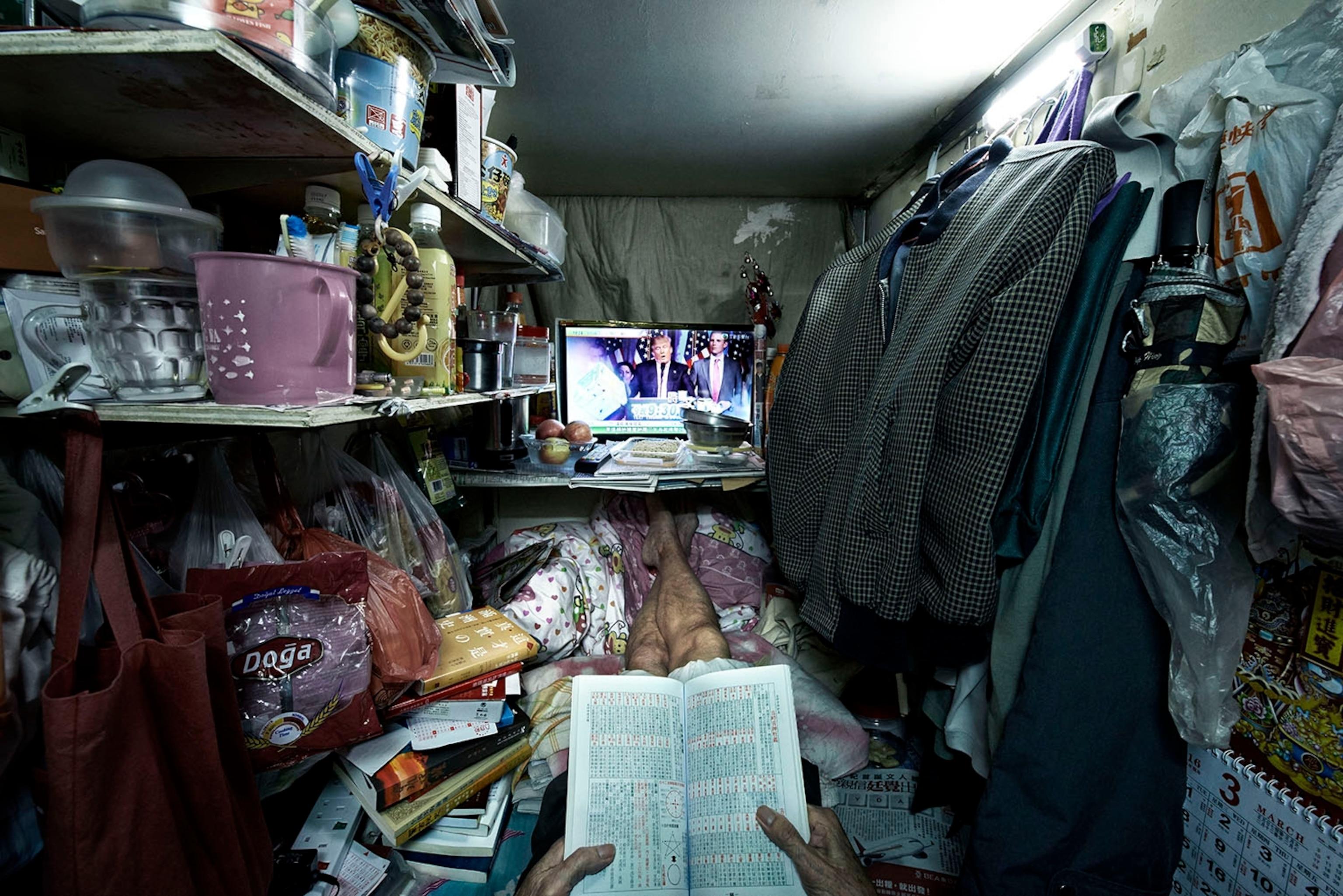 "See Benny Lam's ""Trapped"" Photos From Hong Kong"