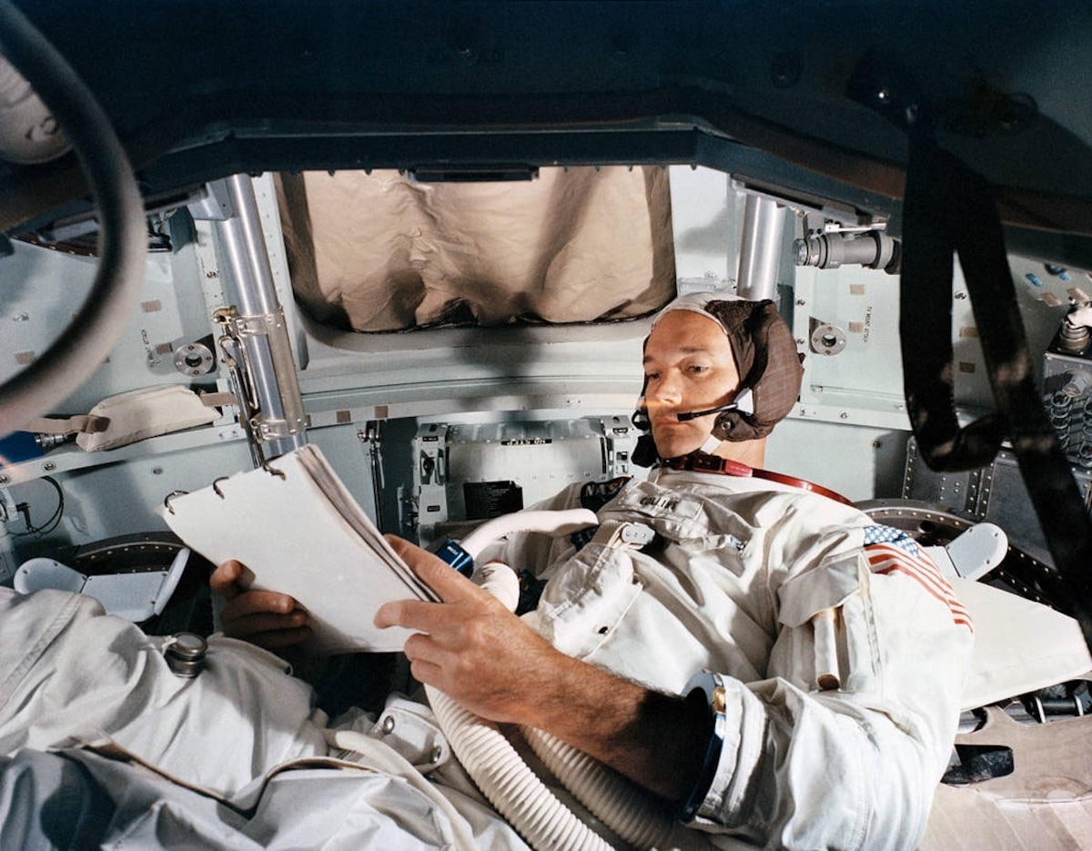 The literary legacy of Michael Collins, the 'forgotten astronaut' of Apollo 11