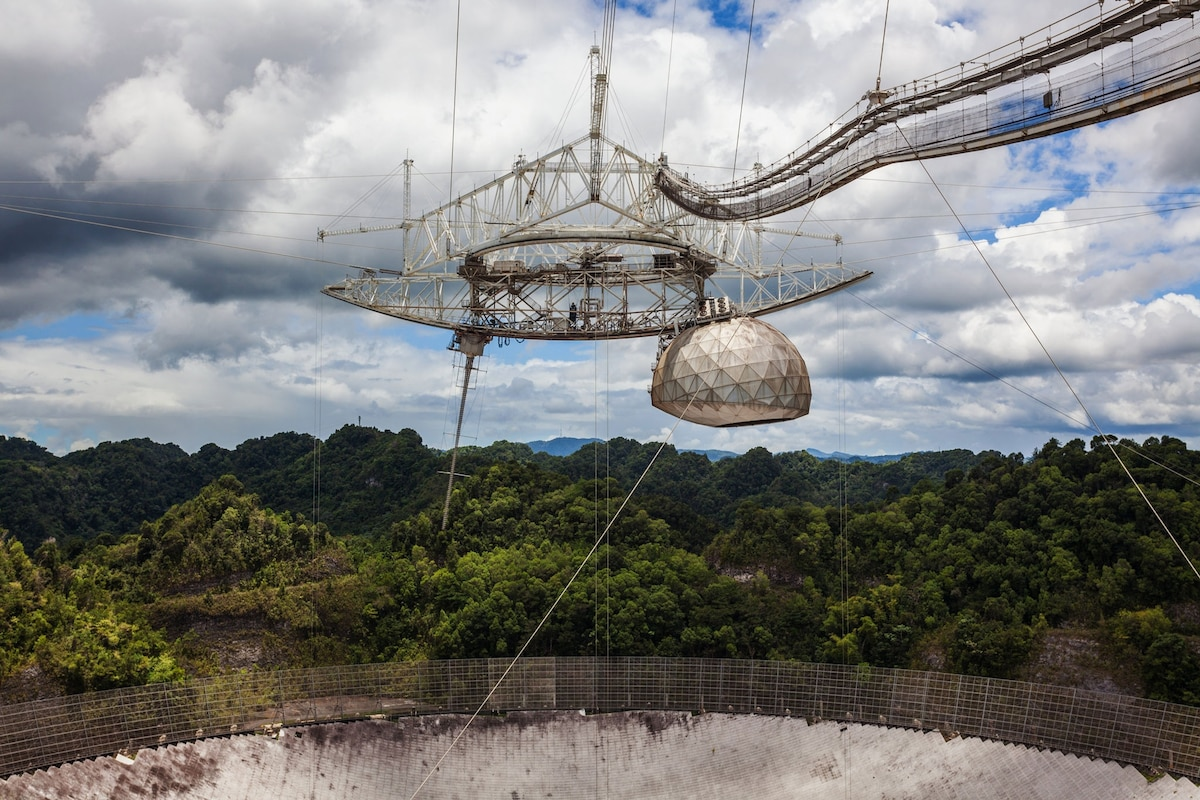 Arecibo Observatory in Puerto Rico to be demolished