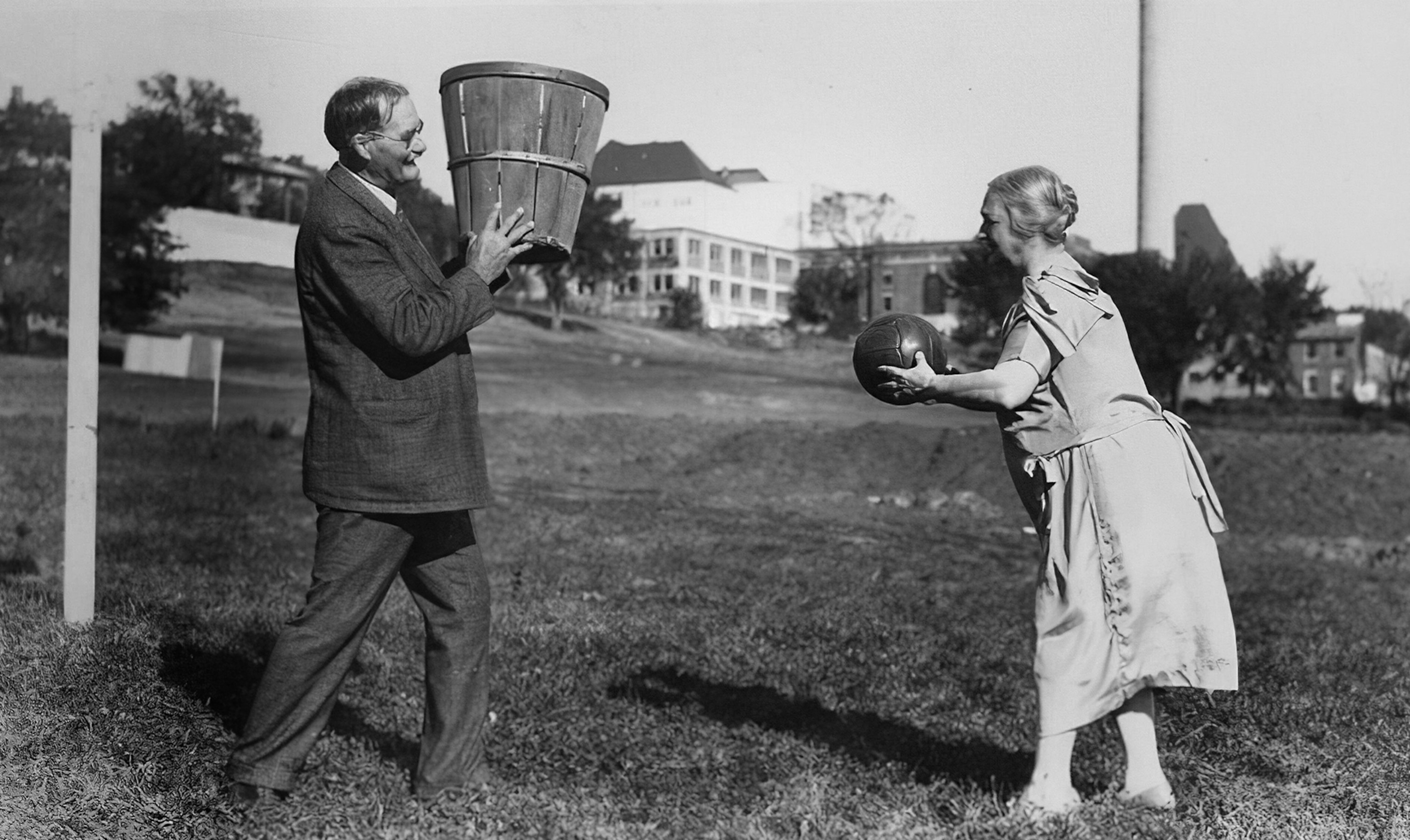 Here's the history of basketball—from peach baskets in Springfield to  global phenomenon