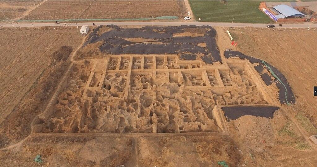 Guanzhuang kazı alanı ve darphane