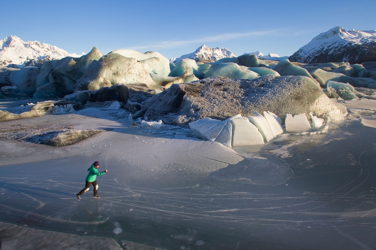 'It really is like flying.' Explore wild skating on nature's ice