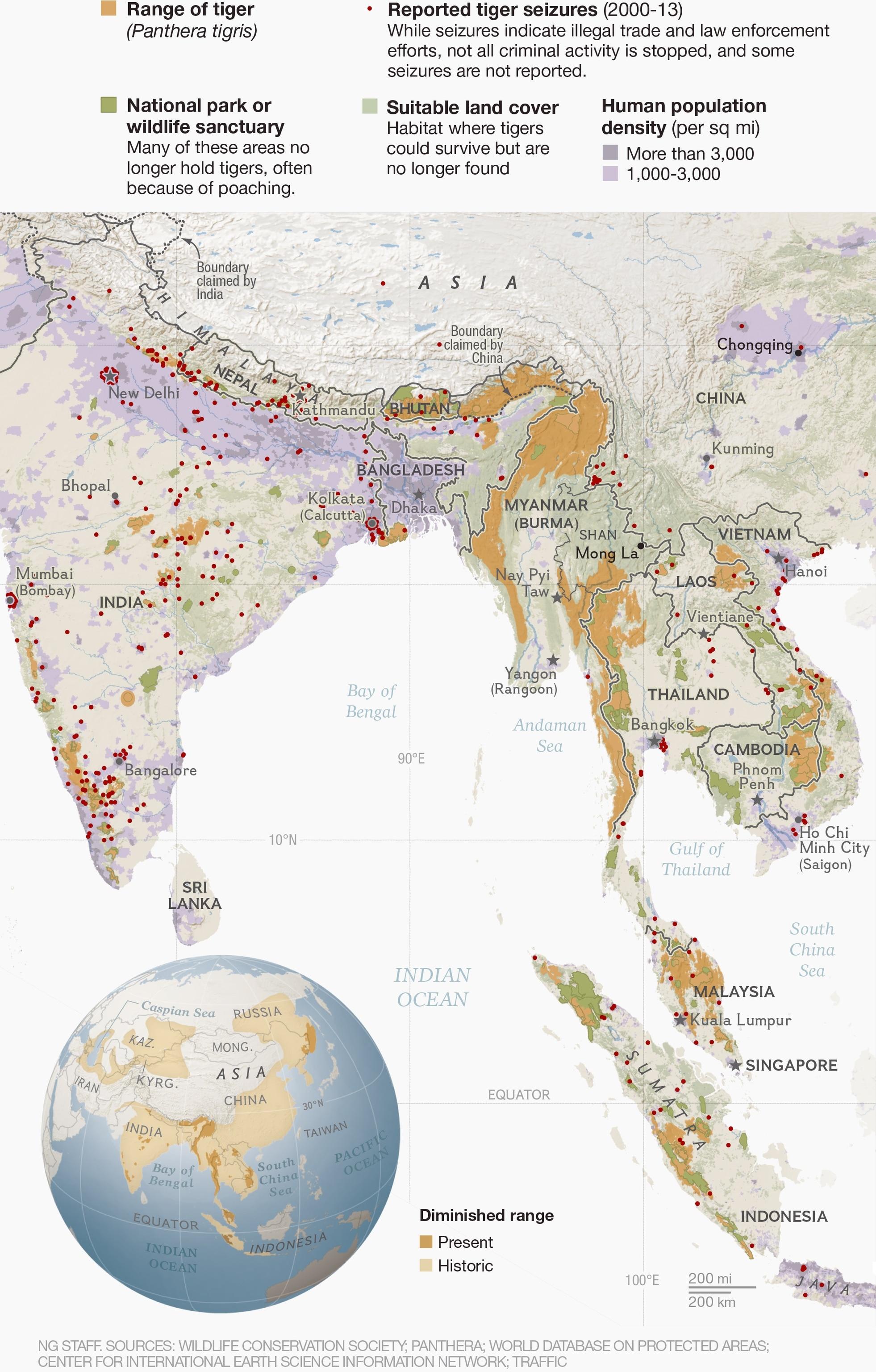 Burma Map Shape Square Tie Clip