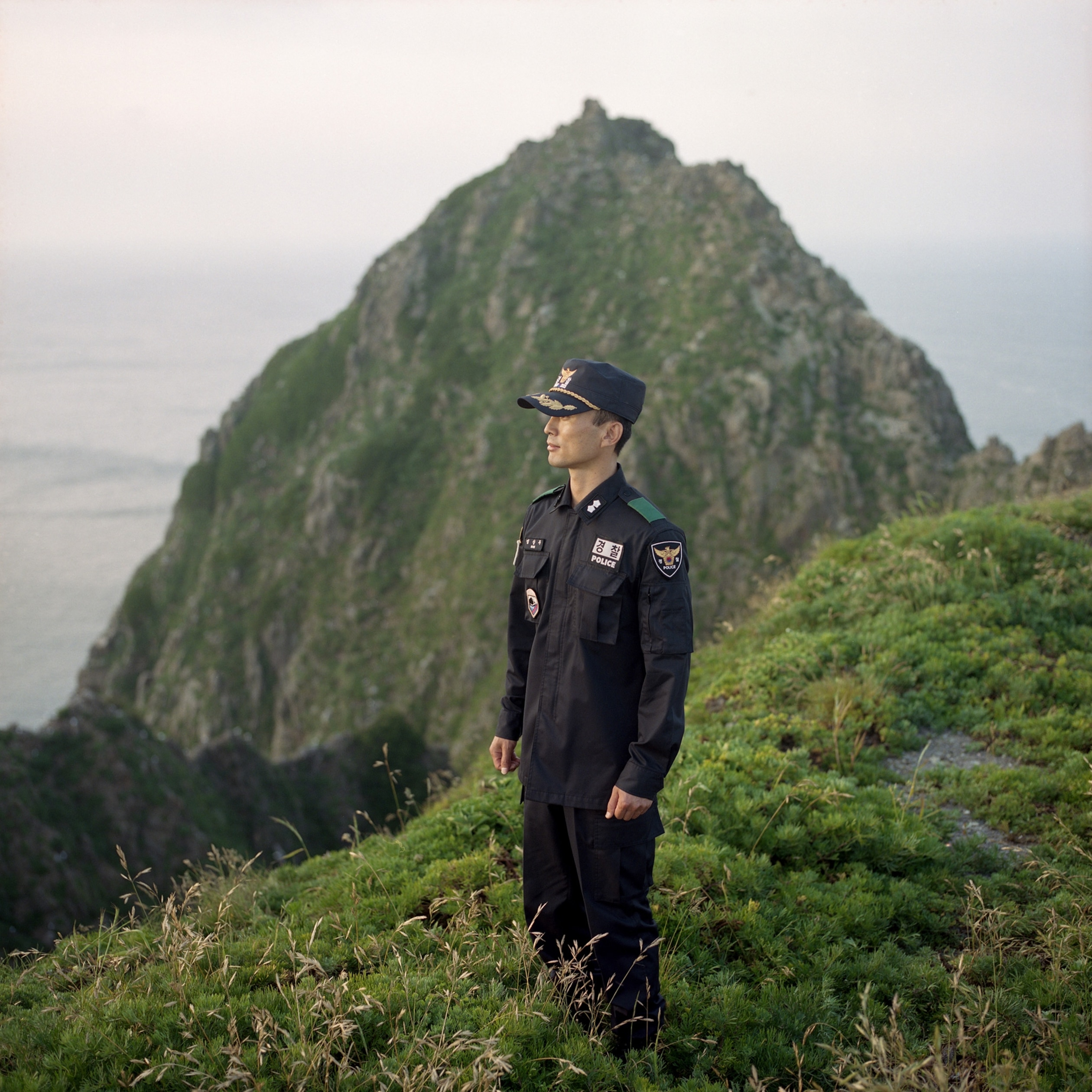the Dokdo Islands in the East Sea
