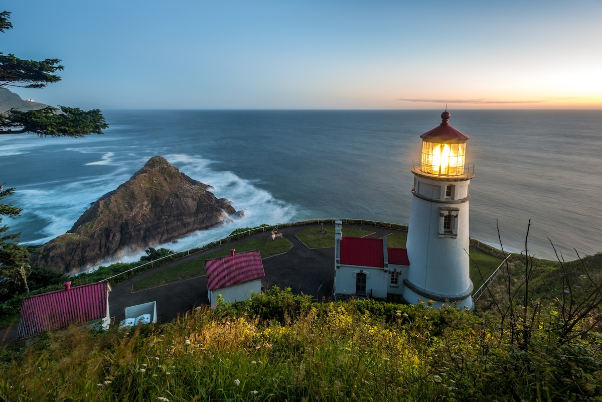 How to save a lighthouse? Sleep in one.