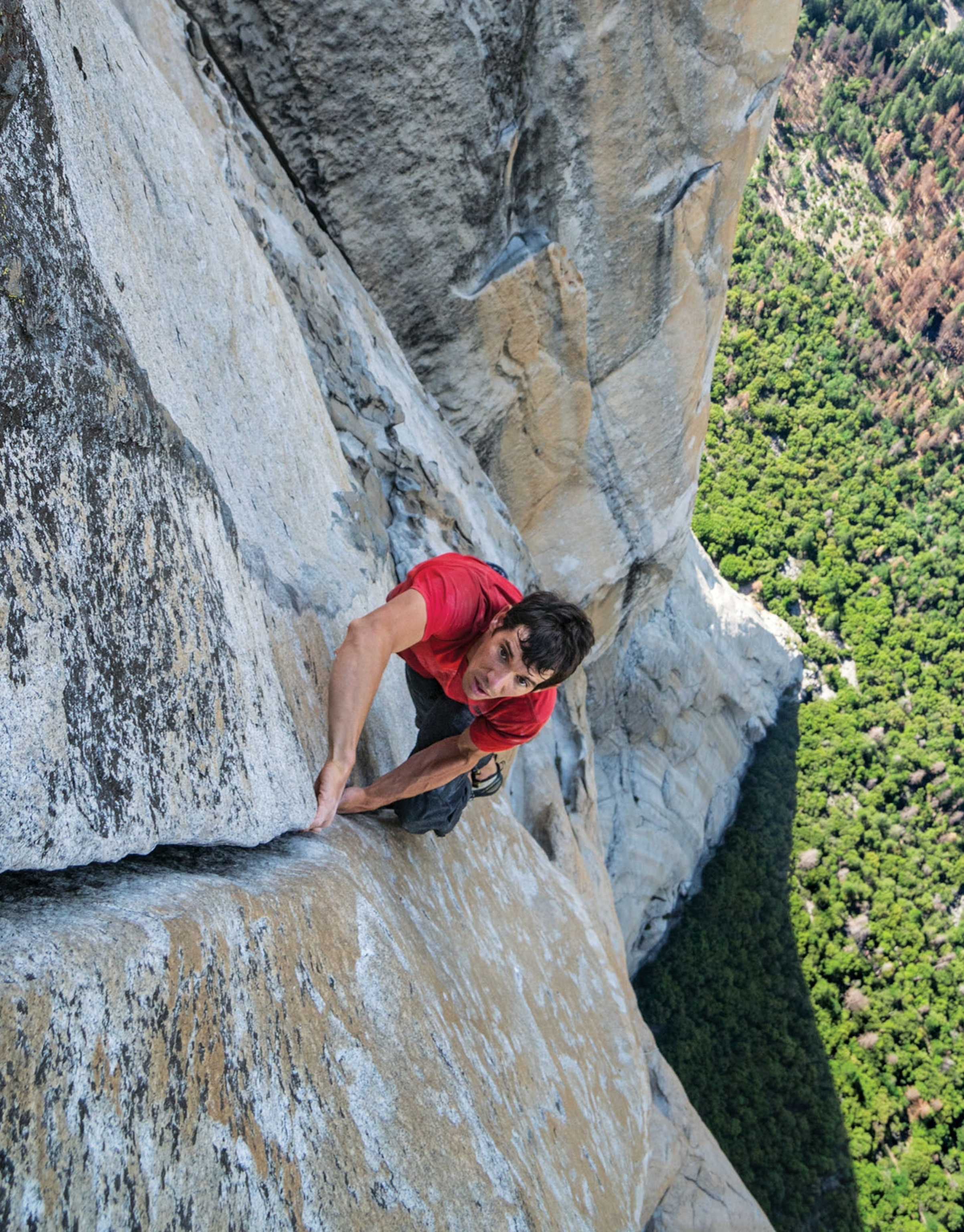 Alex Honnold Filmed in National Geographic's 'Free Solo' Movie