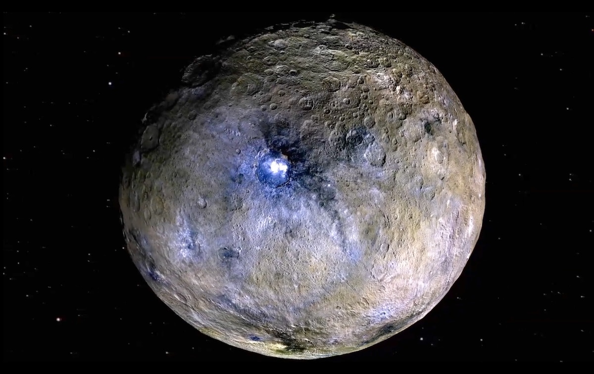 Dwarf planet Ceres is geologically alive