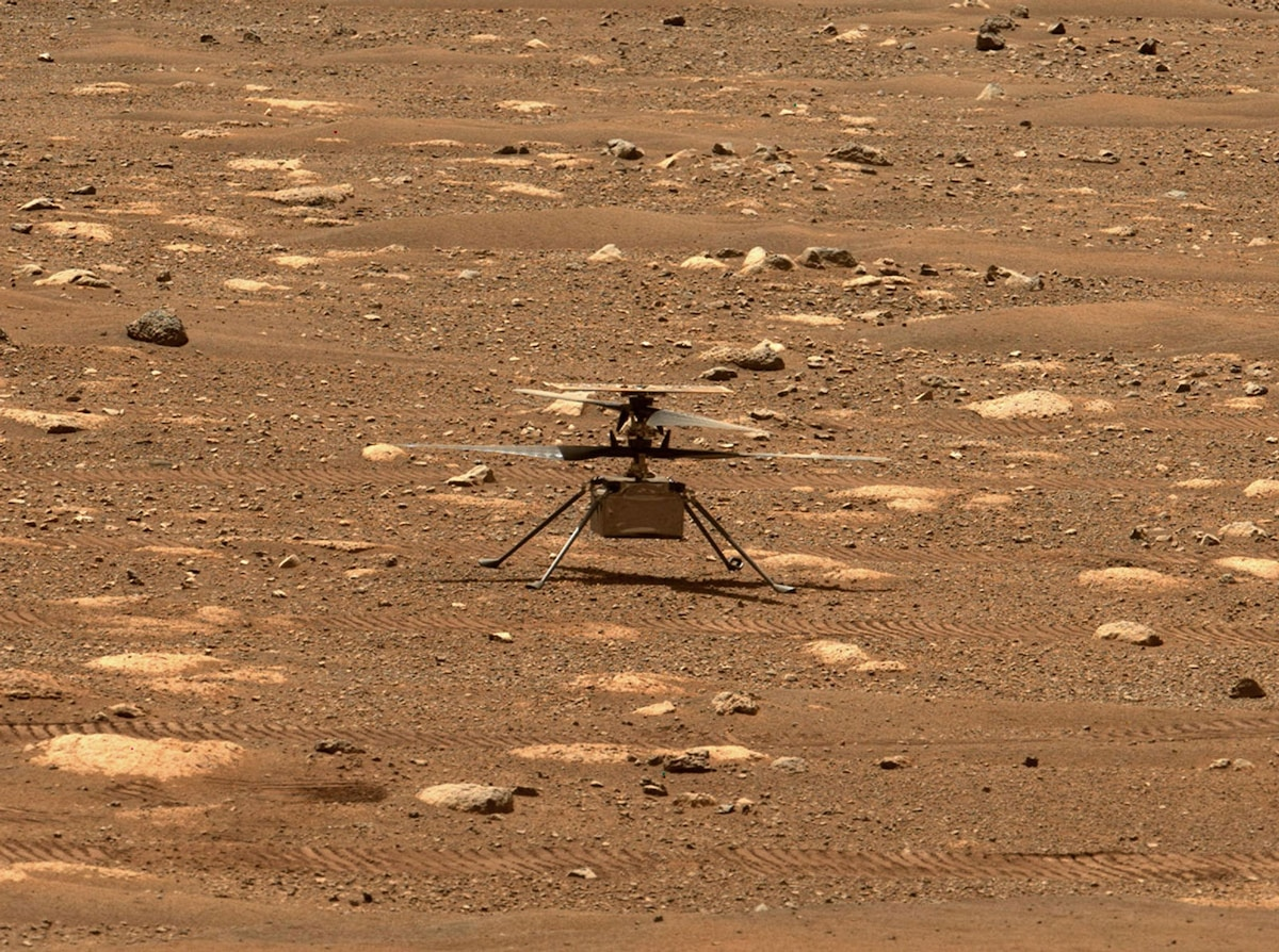 NASA's Mars helicopter gets ready to make history