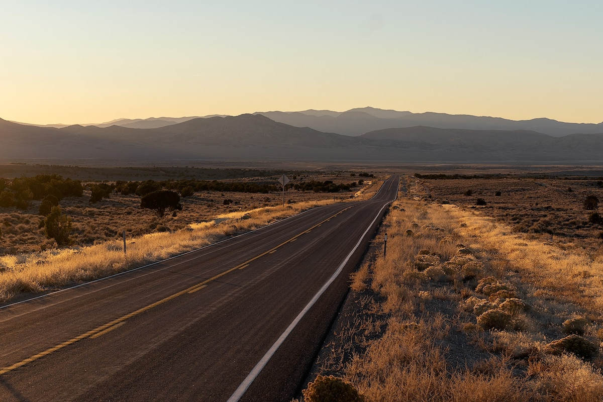 Pictures of U.S. Route 50, the loneliest road in America