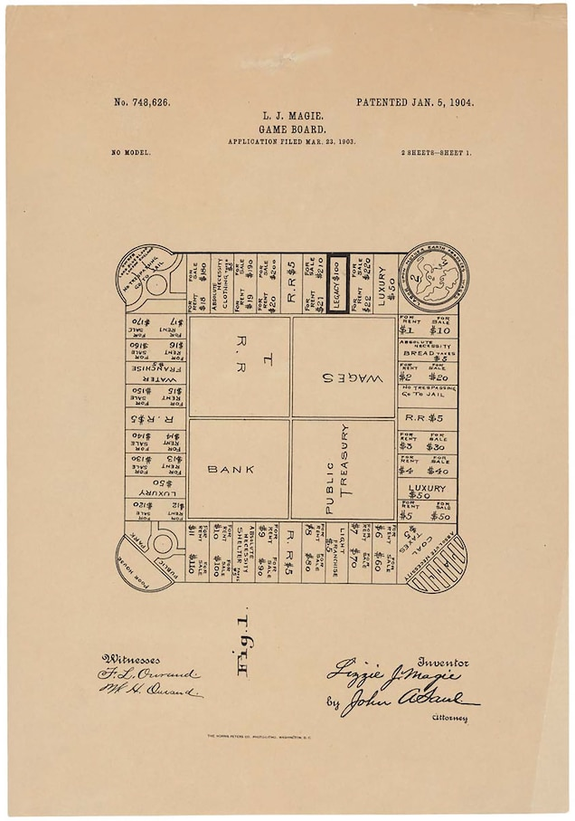 an early version of monopoly