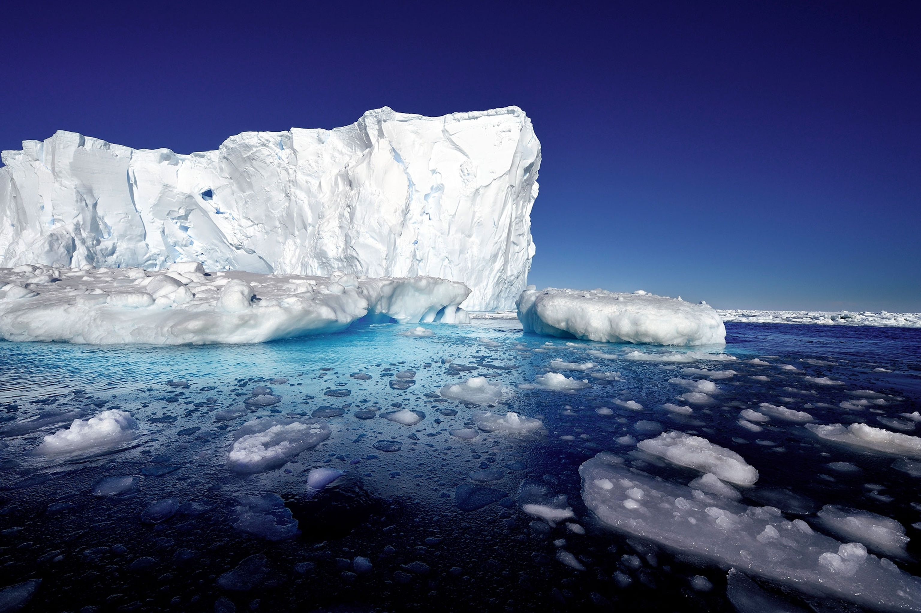 Antarctica's ice