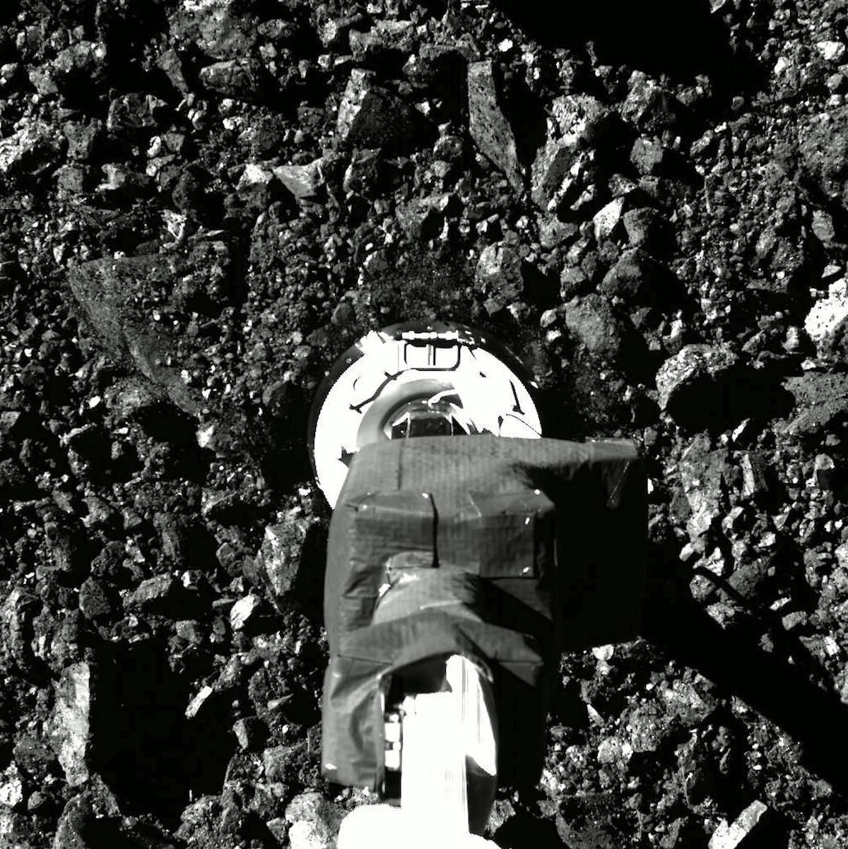 NASA's OSIRIS-REx secures asteroid sample after surprise leak