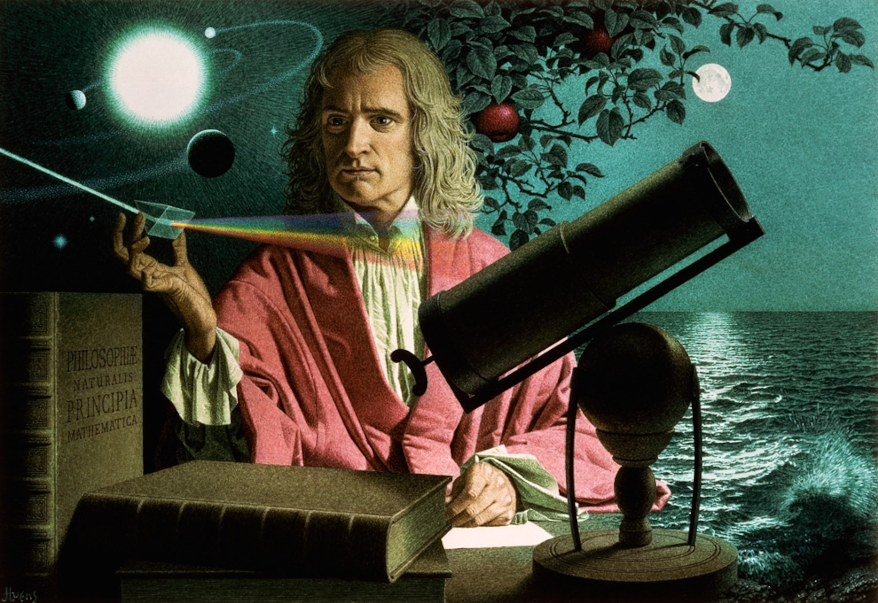 Isaac Newton: Who He Was, Why Google Apples Are Falling